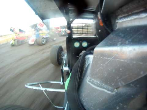 Kyle Purks, New Egypt Speedway, 305 Heat Race, 6-30-2012