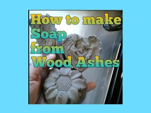 Making Soap from Wood Ashes Part 1 - Making Liquid Lye from Wood Ashes - Wood Ash Soap