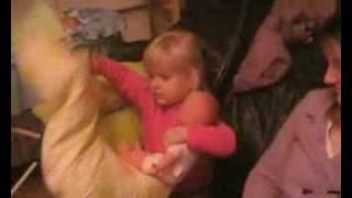 Clarisse donne la gougoutte