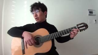 겨울아이(이종용) 기타연주법2 -기타두루치기