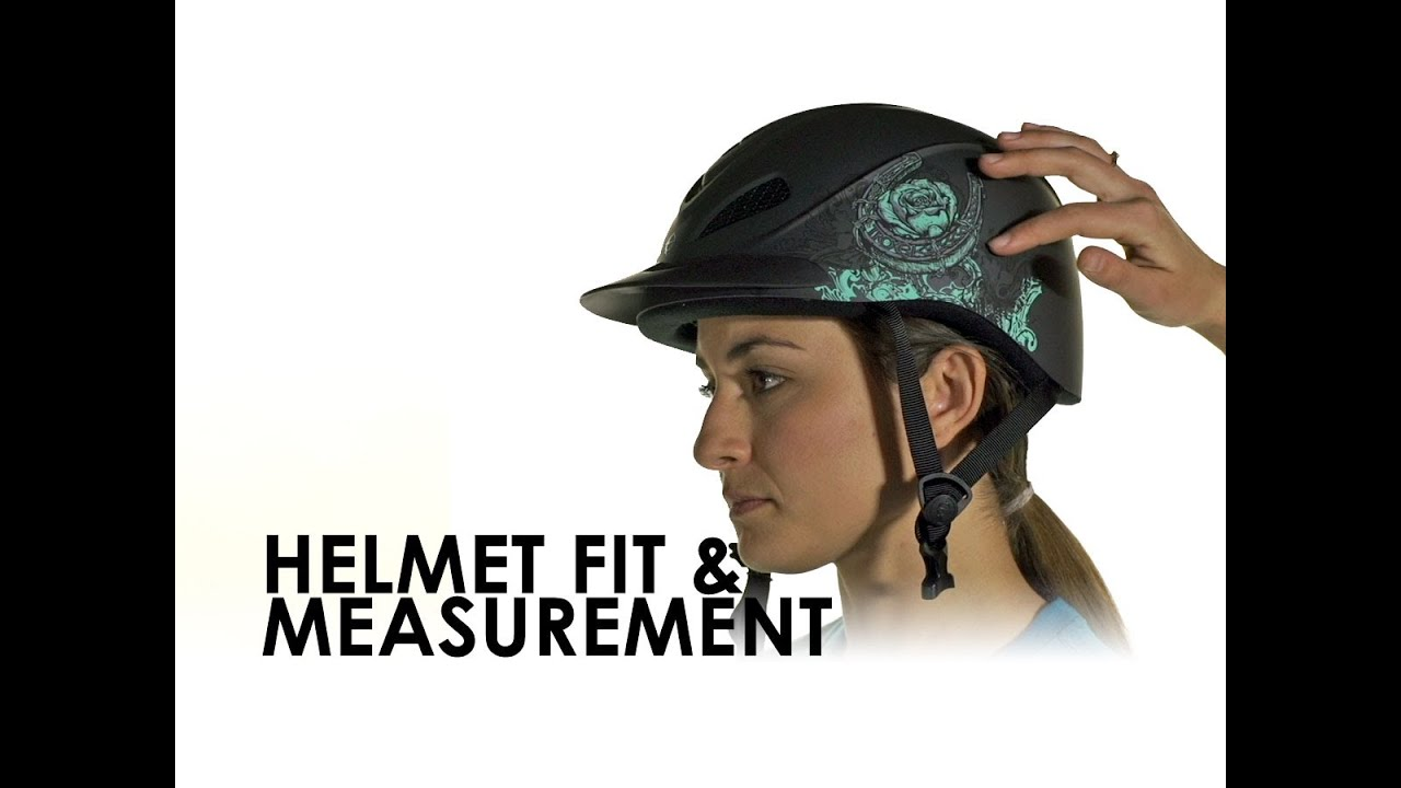 Riding Helmet Sizing Fit Guide For Equestrians Youtube