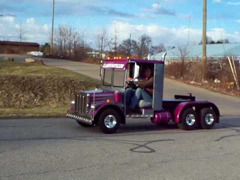 Golf Cart Semi Truck Build 1