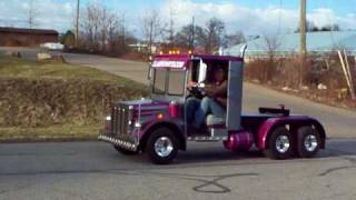 Golf Cart Semi Truck Build #1