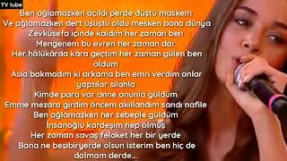 Bensu Soral   Ben Ağlamazken   Rap performans  lyrics MagazinTR