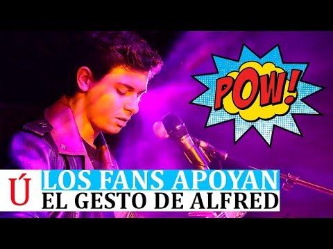 El gesto de Alfred que enloquece a los fans de Operación Triunfo en plena campaña de Eurovisión 2018
