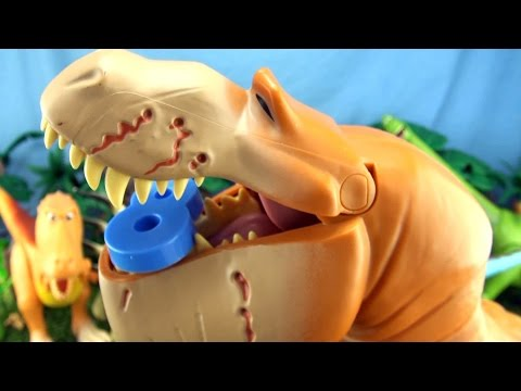 Learn Counting with the Good Dinosaur -  Butch eats numbers - Learn to count 1 - 10