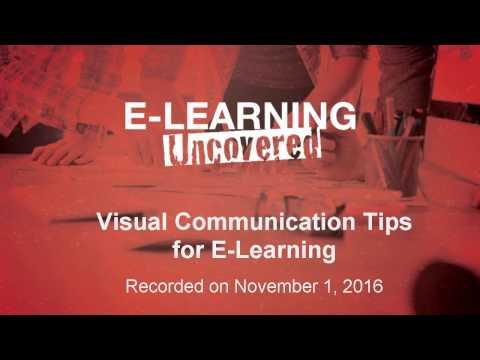 Visual Communication Tips for E-Learning