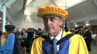 Gerald C. Grosvenor, Duke of Westminster  made doctor honoris causa.