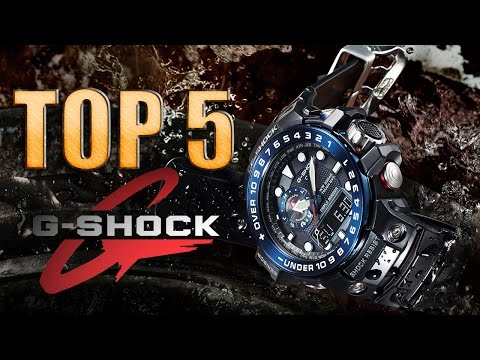 TOP 5 | RELOJES CASIO G-SHOCK