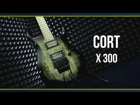 Электрогитара Cort X300