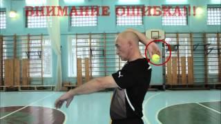 Метание мяча Морозов ВВ