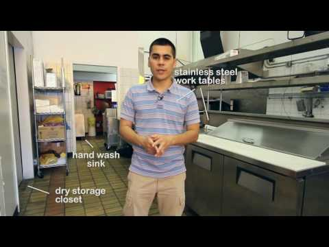 How to setup a Commercial Kitchen -Rental Vancouver