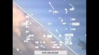 Norwegian F-16 evades erratically moving MiG-31 during intercept