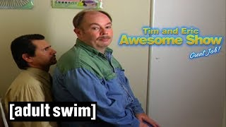 Tim and Eric Awesome Show, Great Job! | Sit on You | Adult Swim UK 🇬🇧