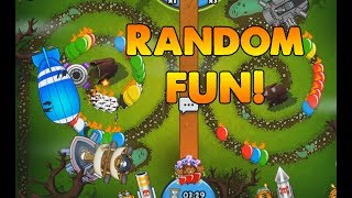 Random Trio Fun! Bloons TD Battles
