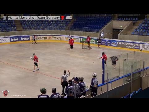 Lax in the Box 2017 Team Germany vs. Vienna Monarchs