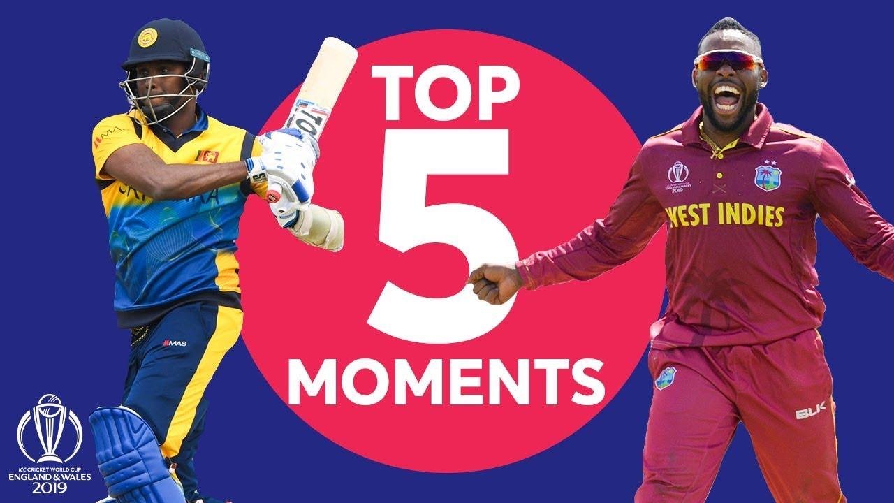 Download Allen? Fernando? | Sri Lanka v Windies - Top 5 Moments | ICC Cricket World Cup 2019