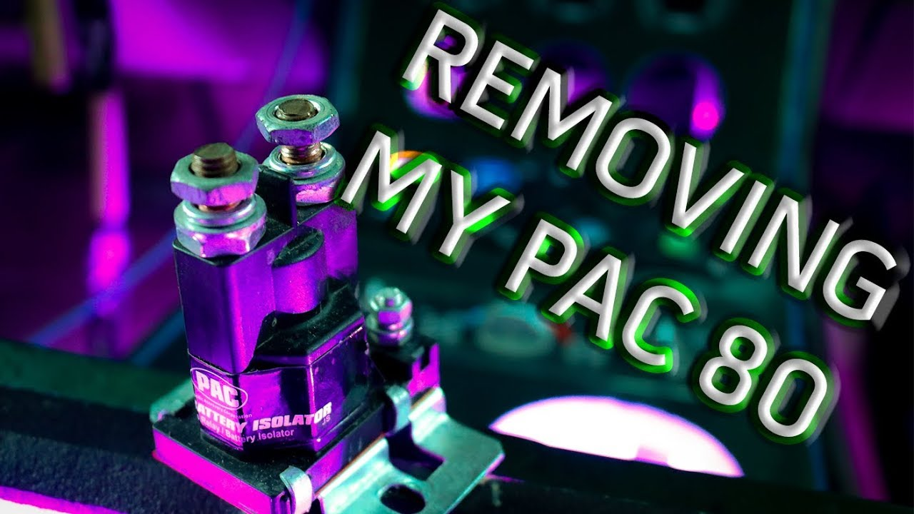 Pac 80 Wiring Diagram 95 Honda Civic Ignition Isolator Install Youtube