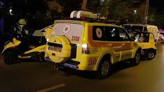 נתניה רחוב עמק חפר גבר בעל דקר את אישתו אישה בת 50 נדקרה למוות מוות הרוגה מדא מד