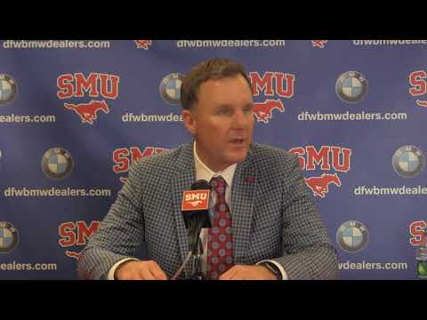 Nov. 14, 2017 -- Head Coach Chad Morris Presser