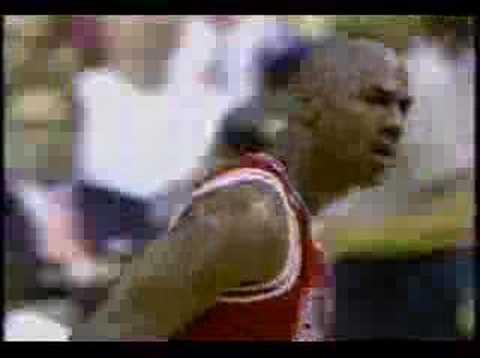 Bulls vs Heat 1996 - Game 3 - Michael Jordan 26 points poster