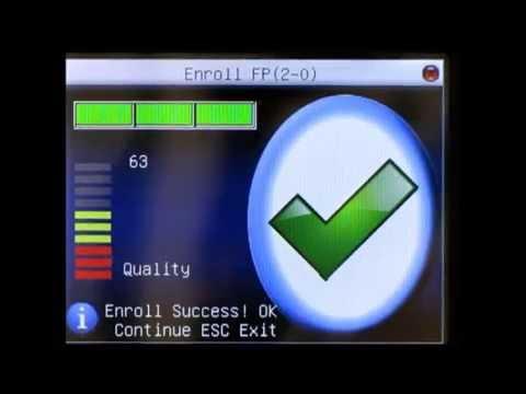 ZKSoftware iClock580 Biometric Fingerprint Reader