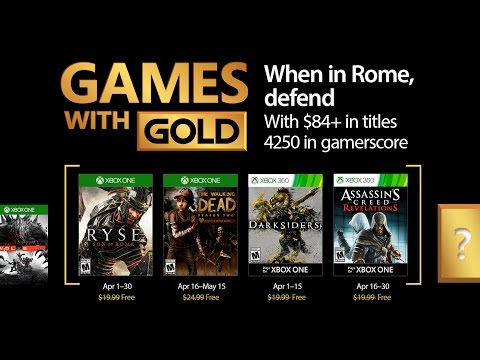 Juegos con Gold Xbox One y Xbox 360 | Abril 2017