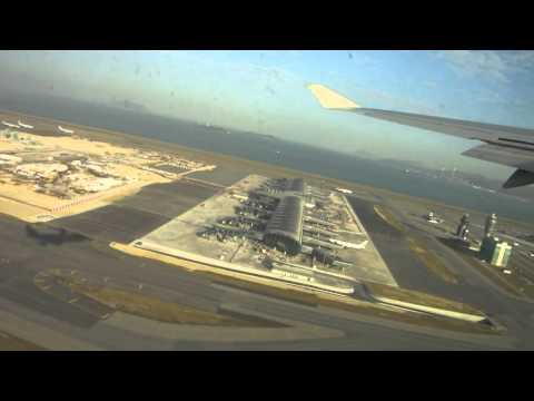 Orient Thai Airlines B747-400 Hong Kong Take off