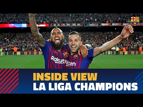 [BEHIND THE SCENES] LaLiga Title Celebrations From The Inside