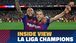 BEHIND THE SCENES LaLiga title celebrations from the inside