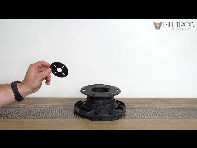 How to use Multipod spacer disc