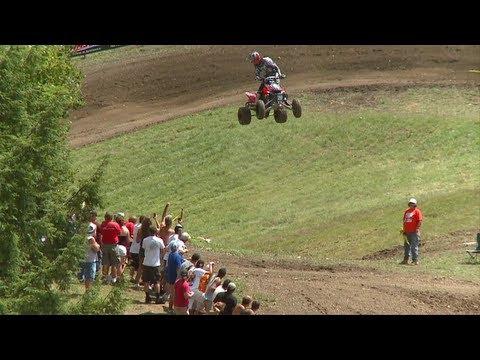 2010 AMA ATV MX National Motocross Championship ATV Racing Series Part 2