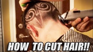 BEST! Easy Cut Your Hair Tutorial, How To, DIY