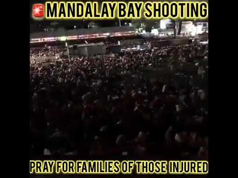 Las Vegas Mandalay Bay Shooting Live Phone Footage #MandalayBayShooting