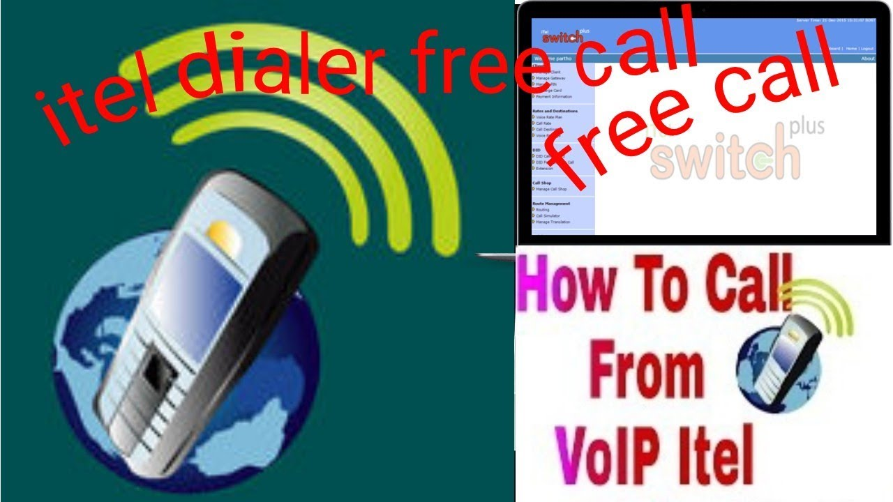 Itel mobile dialer free internet call use pin and call totally free   প্রবা‌সি‌দের জন্য