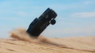 Неудачные Прыжки на Автомобилях