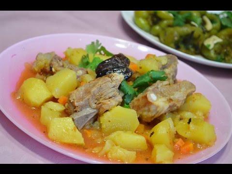 жаркое из свинины с картошкой в мультиварке поларис