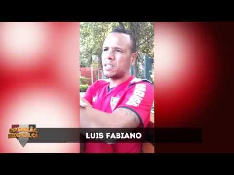 Luís Fabiano falando do seu amor pelo São Paulo FC