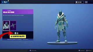 [BIG BUG] HOW TO HAVE THE SKIN NINJA OF FROID FREE ON FORTNITE BATTLE ROYALE 😱