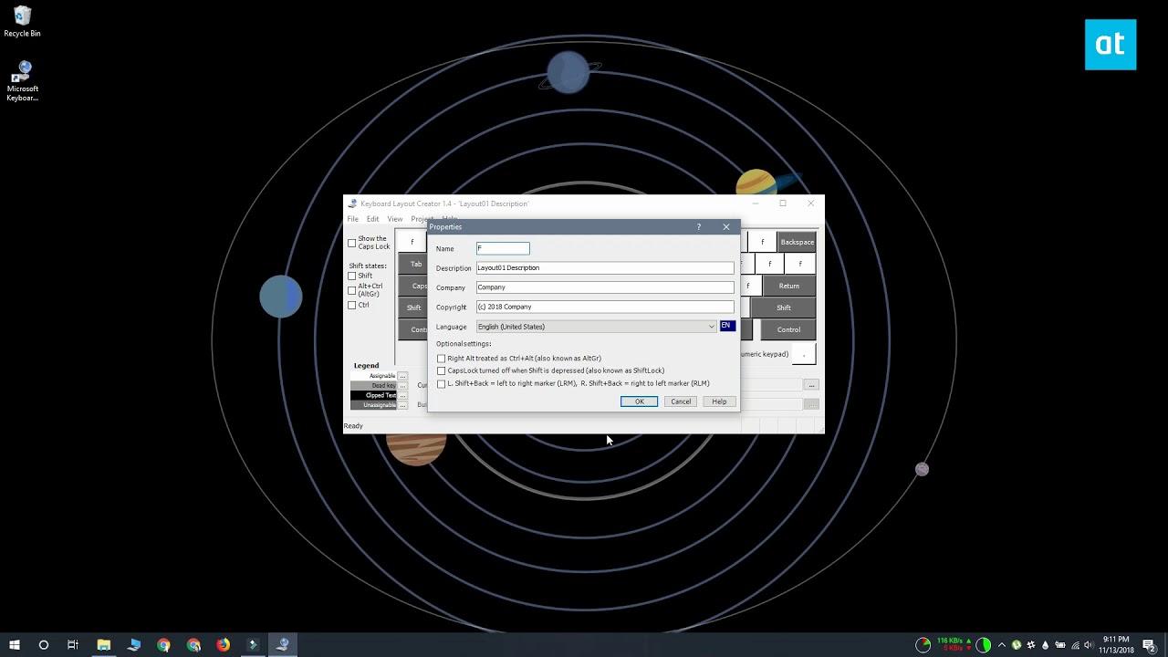 How To Create A Custom Keyboard Layout For Windows 10