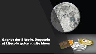 #5 Augmentez rapidement votre solde de BTC et DOGE et de LTC grâce au site Moon