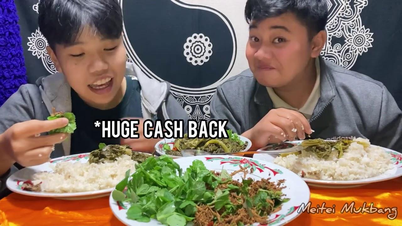 TYPICAL MANIPURI DISH,  HANGGAAM CHAMTHONG & YENDEM MARU SINGJU | Cashkaro | Meitei Mukbang