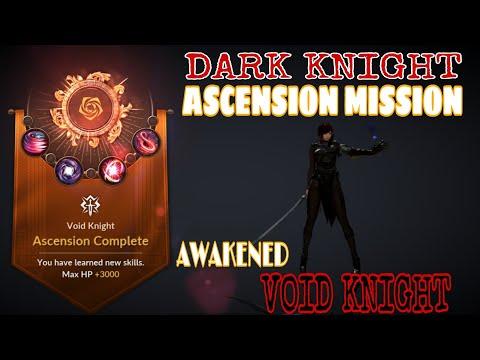 Dark Knight Awakening Guide Ascension Void Knight Black Desert Mobile