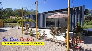 Sea Casa Samara: Casa Nautical Container Airbnb Rental In Costa Rica