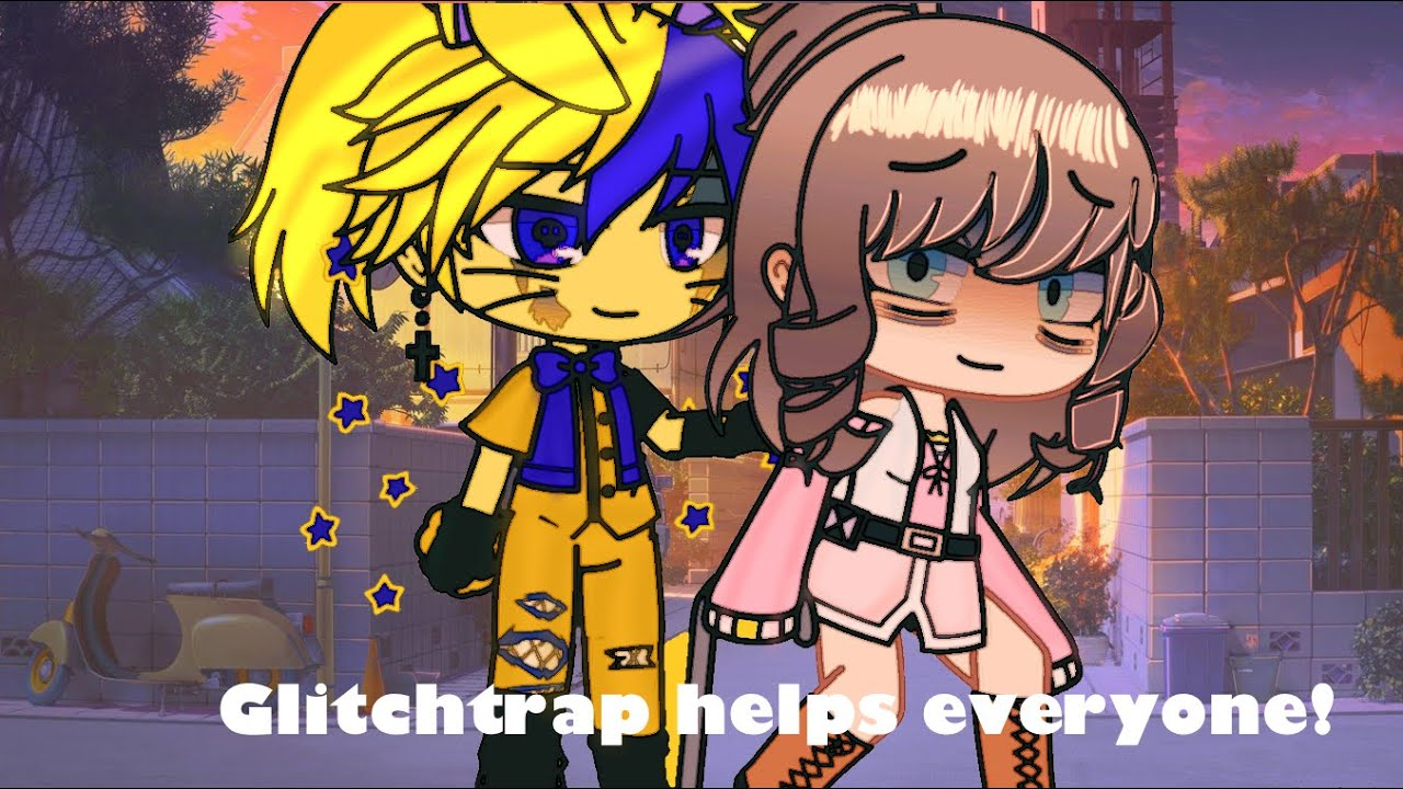 Download Glitchtrap being nice for 24 hours// FNAF// My AU