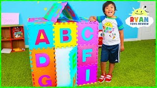 Download ABC Song Playhouse Learn English Alphabet for Children with Ryan! | Kids Nursery Rhymes Mp3 and Videos