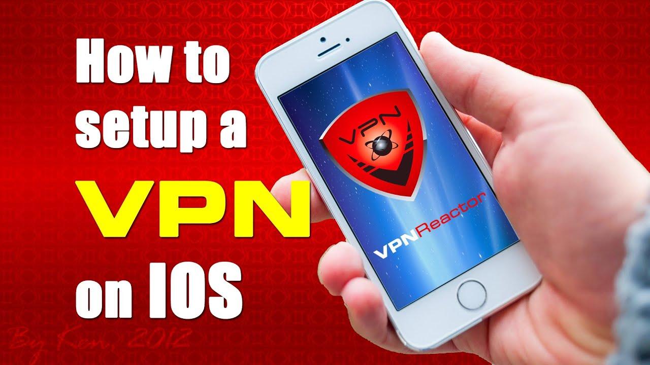 how to change vpn on ipad