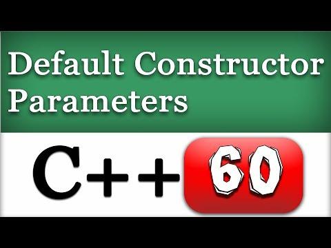 Default Class Constructor Parameters | C++ OOPS Video Tutorial