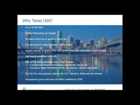 Launch of our latest medical investment opportunity - Medical 7 - Texas USA