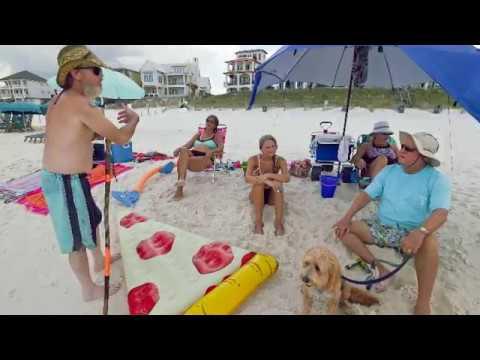 Walton County beaches: public or private
